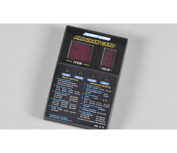 FG Programmierkarte für Brushless Motor Regler 07905 7905 07906 7906