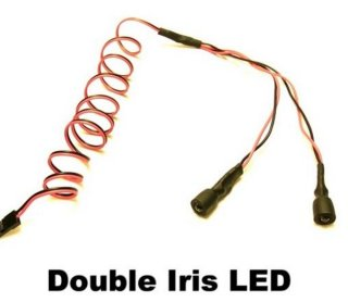Killer RC Iris LED double blau