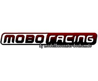 mobo-racing Decal / Aufkleber / Sticker 10x1,8cm
