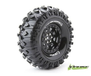 LOUISE LOUT3233VB CR-ROWDY 1.9 supersoft Felge schwarz 12mm Crawler