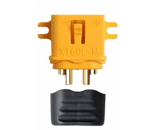 Amass AM-629-1M Goldkontakt - XT60L - 1 Stecker XT-60
