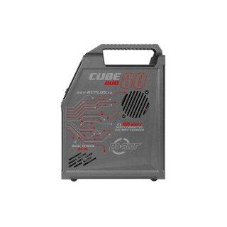 Rc Plus Cube 80 Duo Charger AC-DC LiPo//NiMh Ladegerät 2x 7A//2x 80Watt RC-CHA-211