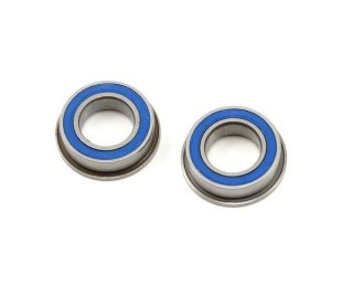 FullforceRC Bearings 15x24x5 MM Flanged Metric Rubber...