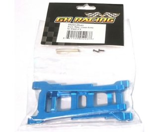 GH Racing 05203 Aluminium Rear Lower Arms für Slash 4x4 blau