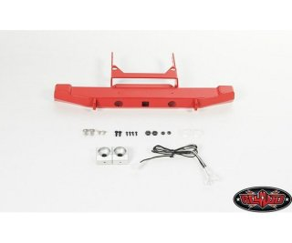 RC4WD RC4VVVC0335 Solid Rear Bumper w/Lights for Axial...
