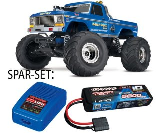 Traxxas 36034-1 BIGFOOT No.1 RTR 1/10 Monster Truck +...