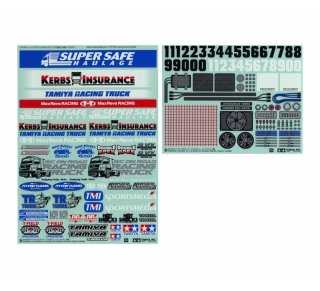 Tamiya 54844 Sticker 1:14 Racing Truck 300054844