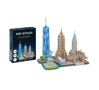 Revell 00142 3D Puzzle City Line New York