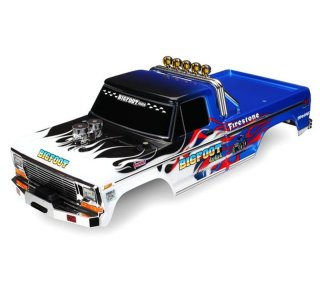 Traxxas 3653 Karo Bigfoot Flame Officially Licensed...