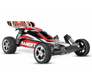 Traxxas 24054-1REDX Bandit 1/10 Extreme Sports Buggy RTR...