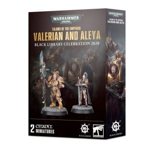 Warhammer 40000 Talons of the Emperor: Valerian and Aleya...