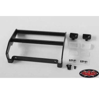 RC4WD RC4VVVC0504 Cowboy Frontgrill Guard inkl. Lights Traxxas TRX4 Ford Bronco schwarz