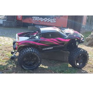 mobo-racing Edition Wild Pink Traxxas X-Maxx 8S RTR...